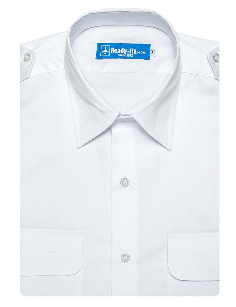 """Chemise pilote """"White Collar"""""""
