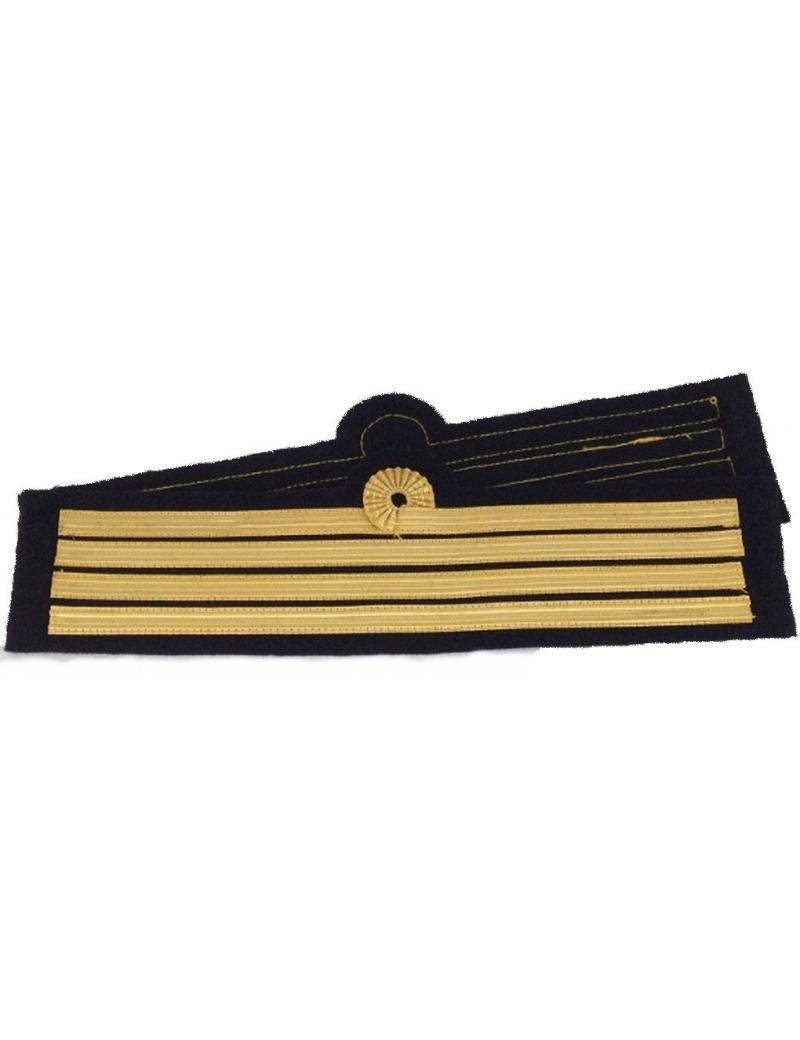 Tours de manches pilote Commandant de Bord avec boucle de Nelson