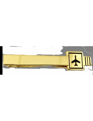 Pince à cravate pilote RTF dorée