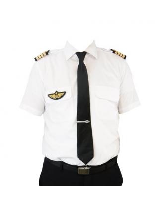 Chemise Pilot Classic Slim Fit Blue Collar