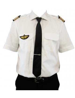 Chemise Pilot Classic Regular Blue Collar