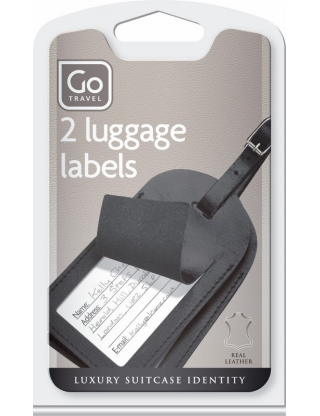 Leather Labels For Luggage