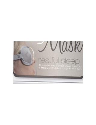 """Eye Mask & Ear plugs kit"""