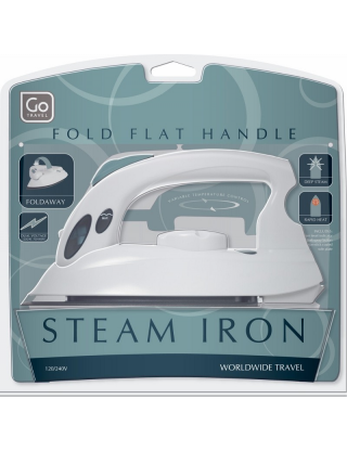 """Steam Iron To Go"""