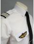 Coulants d'épaules Officier Pilote platine