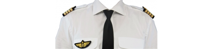 Chemises pilote homme