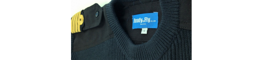 Pull-overs laine pilote readytofly